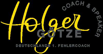 Holger Götze - Coach & Speaker - Deutschlands 1. Fehlercoach